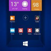 Next Launcher Theme Windows 8 1.1