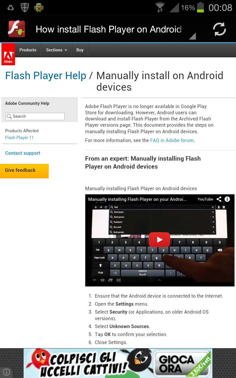 Скачать Adobe Flash Player На Андроид 2.3