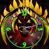 DEMON LORD Clock Widget