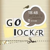 Paper Lock Go Locker EX