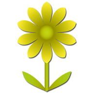 Flower Battery Widget