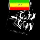 Reggae Rasta Battery Widget