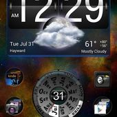 Year Clock Widget