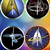 StarTrek Clock set