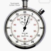 Old Fashioned Stopwatch &Timer