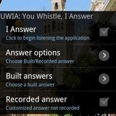 UWIA: You Whistle I Answer
