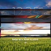 Fake Xperia Z Lock Screen [only small screens]