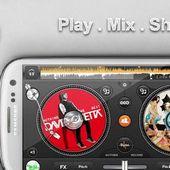 edjing PRO DJ mixer turntables