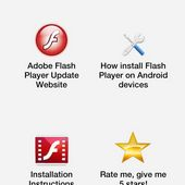 Adobe Flash Player up to date