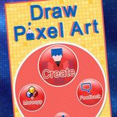 Draw Pixel Art Touch Painting