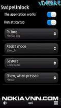 Swipe Unlock v1.02 Symbian3 Nokia Anna Belle Signed - Free App Download