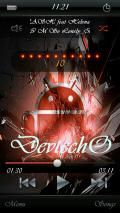 Android red skin 4 ttpod by devtechO