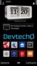 Live Time Skin 4 Deskclock By Devtech
