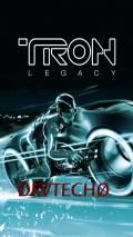 tron bootscreen by devtecho