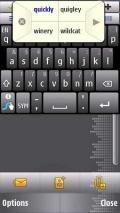 Swype Keypad