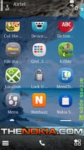 Access Apps-Swipe Shortcut Menu-meego Style v2 For S60v5,s3
