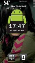 Android Clock Skin