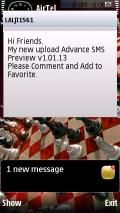 Advance SMS Preview