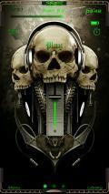 Music Skull TTPOD 4.0 skin