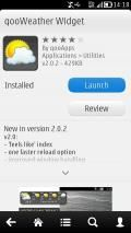 QooWeather Widget By QooApps