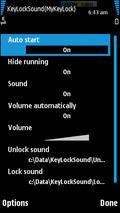 My Key Lock (Sound On Key Lock)
