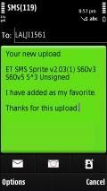 ET SMS Sprite