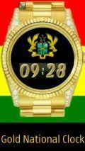 Ghana Gold Clock