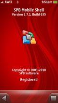 SPB MobileShell v3.7.1 Build 635 S60v5 S3 SymbianOS9.x