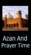 Azan And Prayer Time