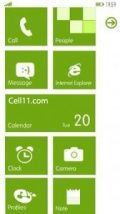 WP7-Green Launcher By Ricky Bhairon