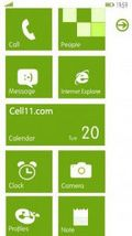 Wp7 Green -launcher