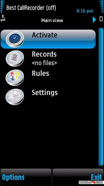 Symbian Call Recorder | Total Recall