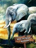 How to Draw Animals - Keypad Phones