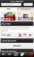 Opera Mini Next 7.0 Fullscreen (Ger/DE)