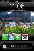lock iphone style Java J2ME apps