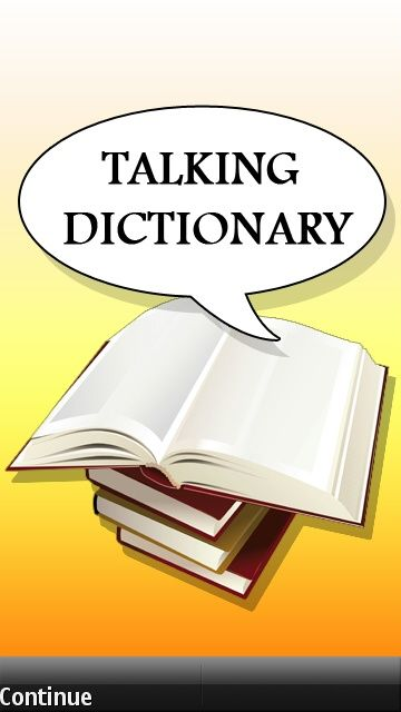Talking Dictionary Java App - Download for free on PHONEKY