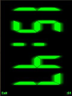 Java night clock apps