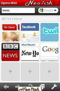 Opera Mini Web Browser Java App - Download for free on PHONEKY