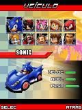 Sonic Sega All Star's Racing 240x320