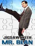 Jigsaw With Mr. Bean (240x320)