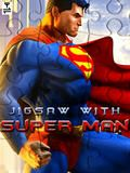 Jigsaw With Super Man (240x320)