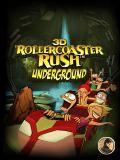 3D Rollercoaster Rush Underground 240x320
