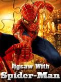 Jigsaw With Spider Man (240x320)