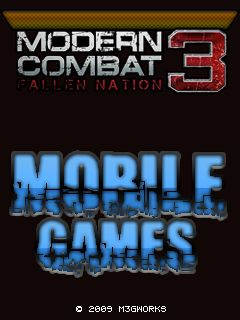 Modern Combat 3 Java Game - Download for free on PHONEKY