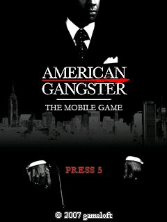 Gl American Gangster The Mobile Game Java Game - Download
