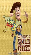 Disney Pixar Toy Story 3 Woody's Wild Ri