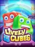Lively Cubes Touchscreen Fullscreen