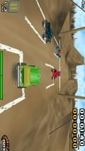 Burning Tires 3D 360x640 Full Touch Screen
