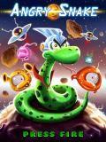 Serpiente enojada