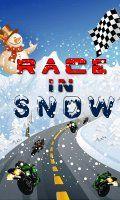 Race In Snow (240x400)